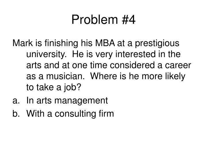 Problem #4