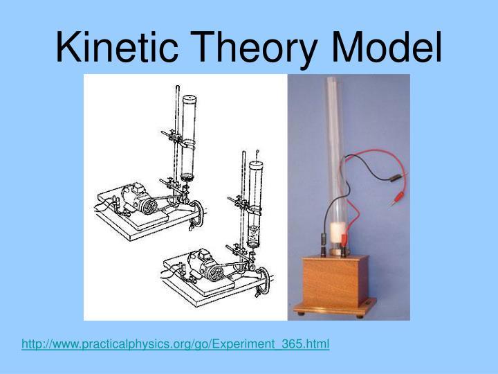 Kinetic Theory Model