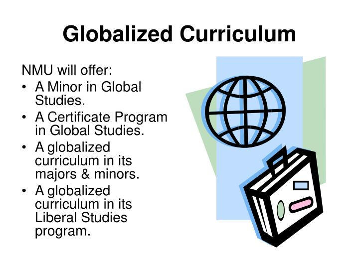 Globalized Curriculum