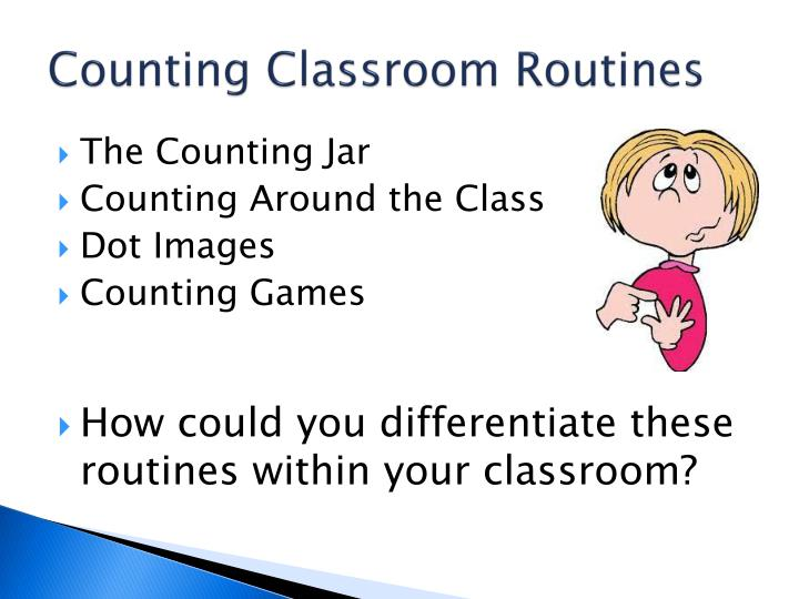 Counting Classroom Routines