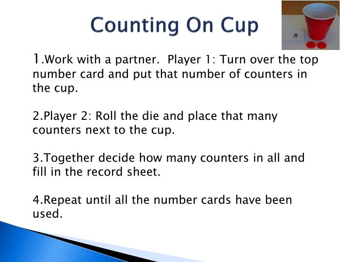 Counting On Cup