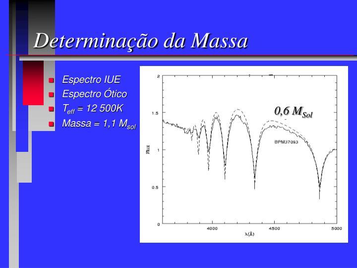 Determinação da Massa