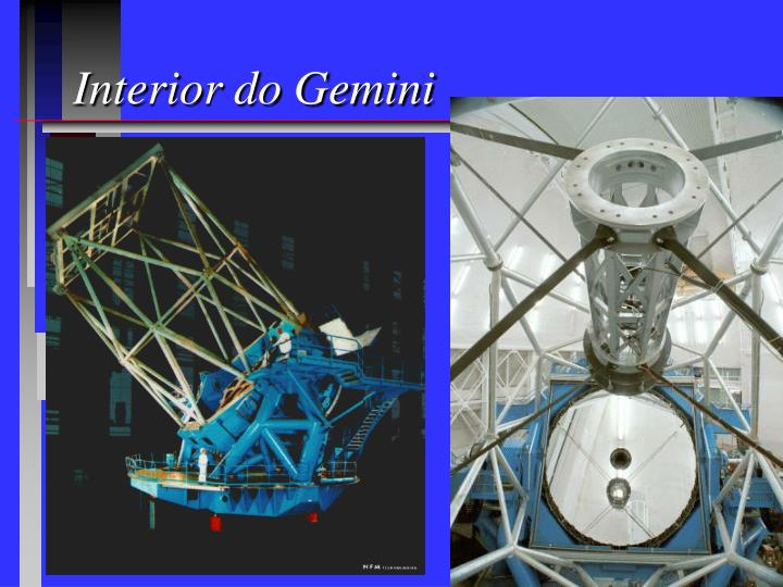 Interior do Gemini