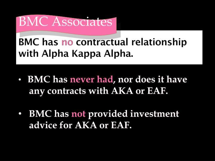 BMC has