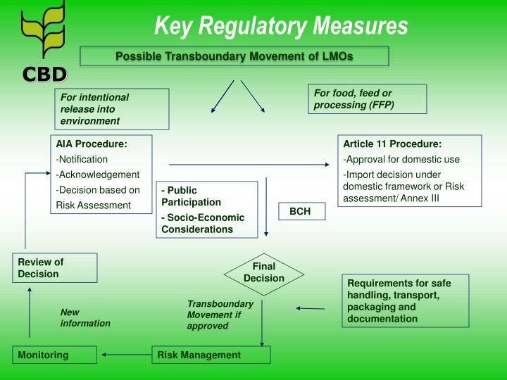 Key Regulatory Measures