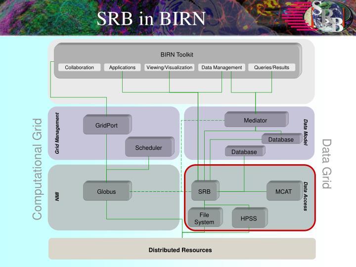 SRB in BIRN