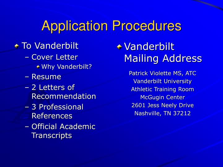 To Vanderbilt