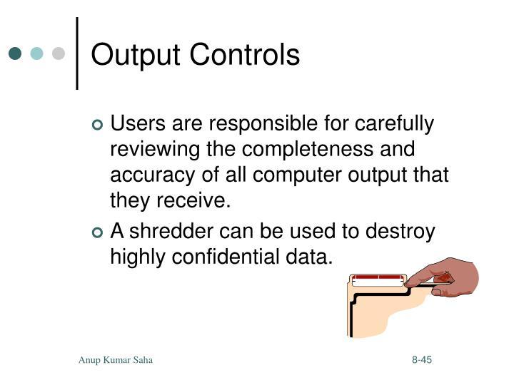 Output Controls