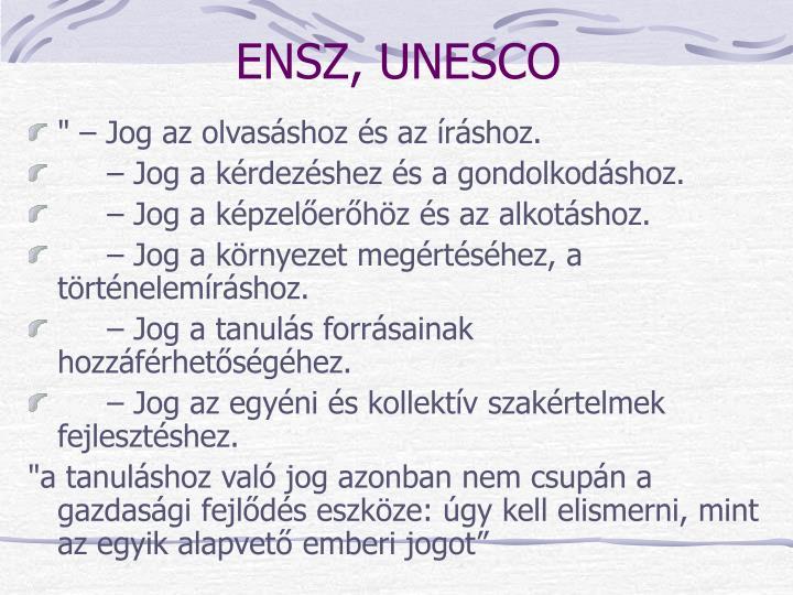 ENSZ, UNESCO