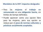 mandatos de la dst impactos desiguales2