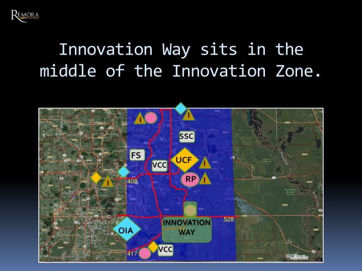 Innovation Way sits in the