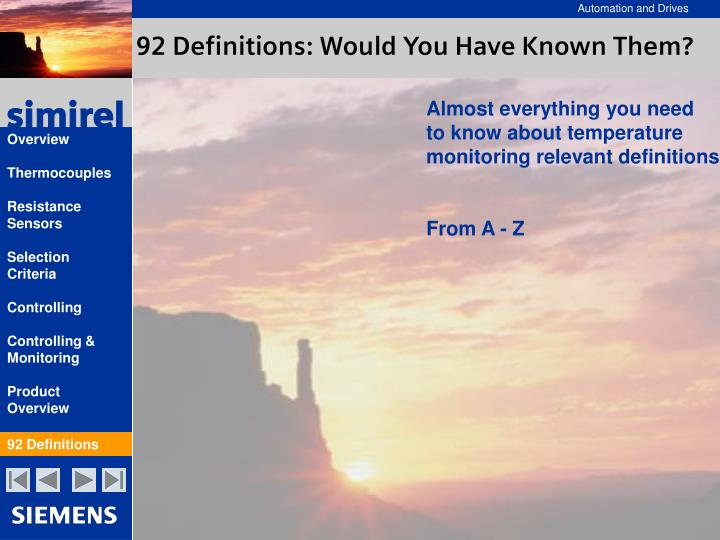 92 Definitions: Would You Have Known Them?