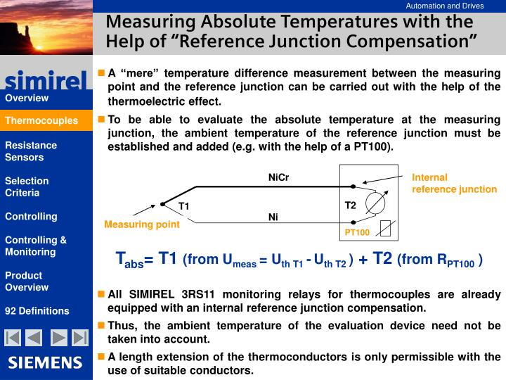 Measuring Absolute Temperatures with the