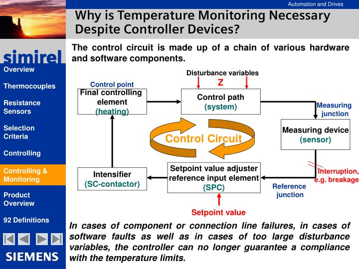 Why is Temperature Monitoring Necessary Despite Controller Devices?