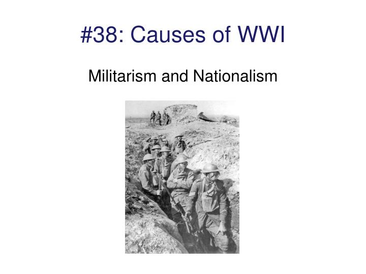 #38: Causes of WWI