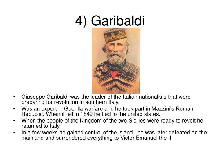 4) Garibaldi