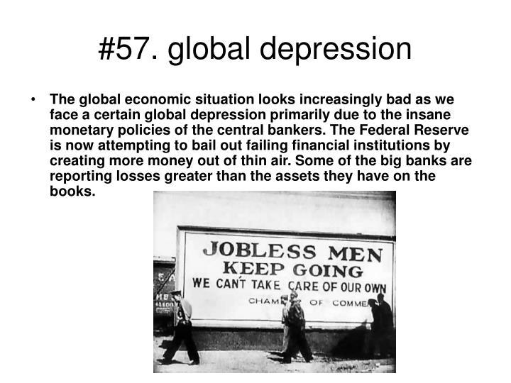 #57. global depression