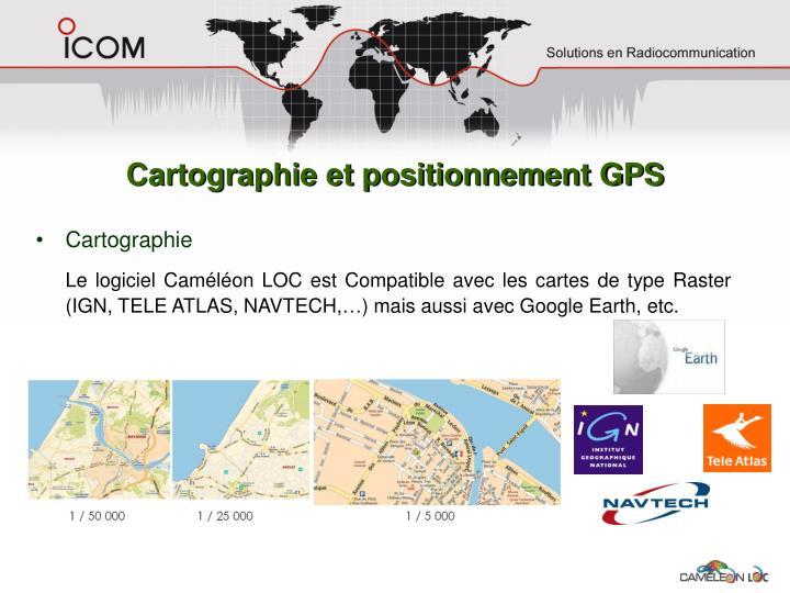 Cartographie et positionnement GPS