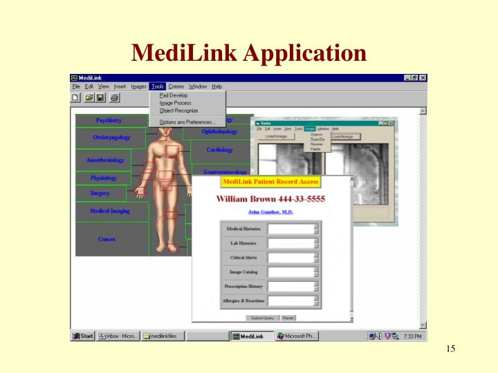 MediLink Application