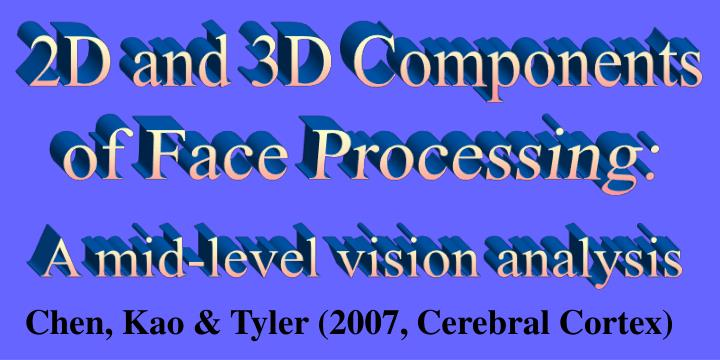 2D and 3D Components
