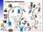 cellphone milestones