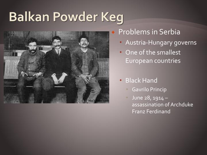 Balkan Powder Keg
