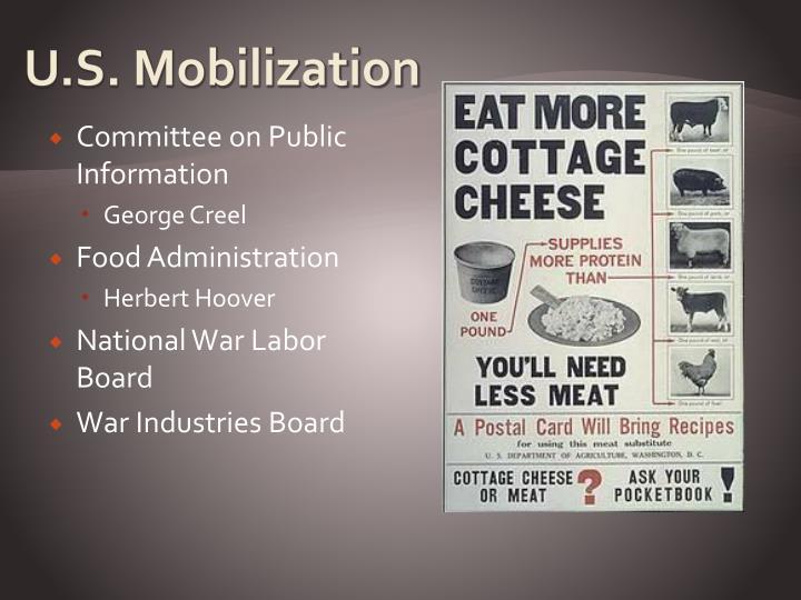 U.S. Mobilization