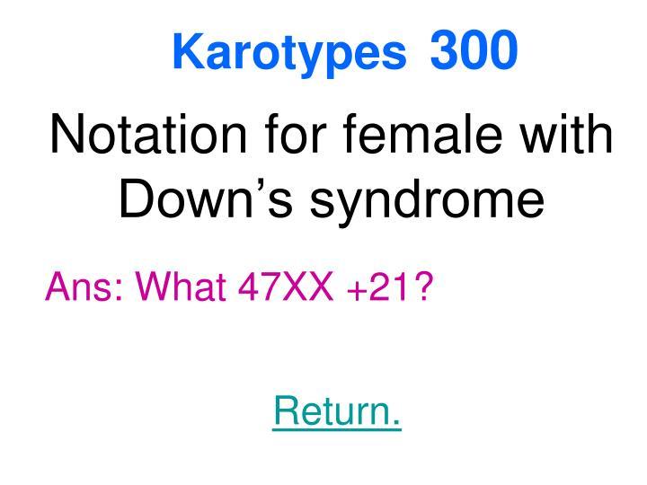 Karotypes