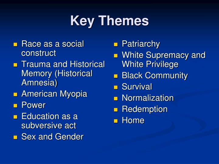 Race as a social construct