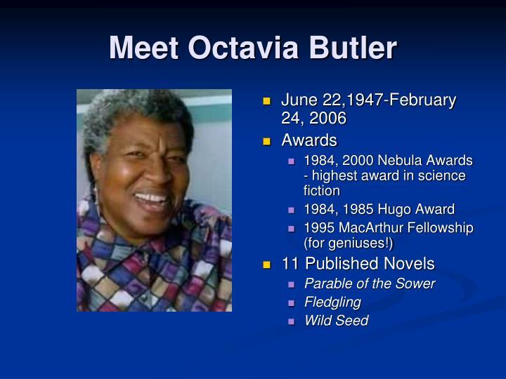 Meet Octavia Butler
