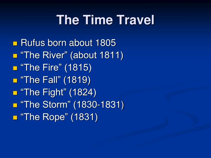 The Time Travel