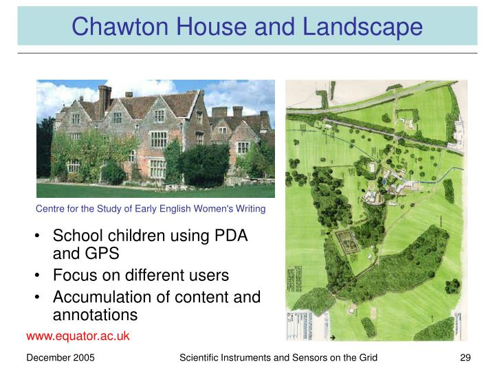 Chawton House and Landscape