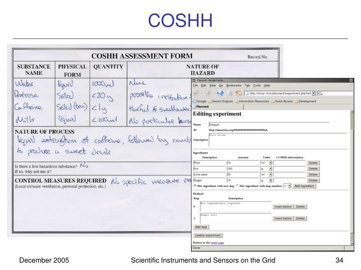 COSHH