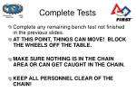 complete tests