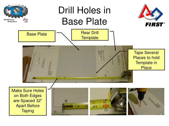 Drill Holes in