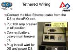 tethered wiring