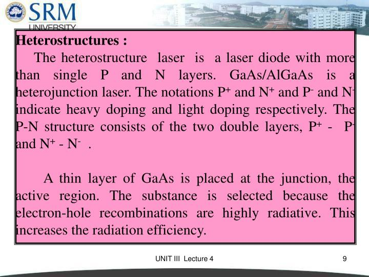 Heterostructures :