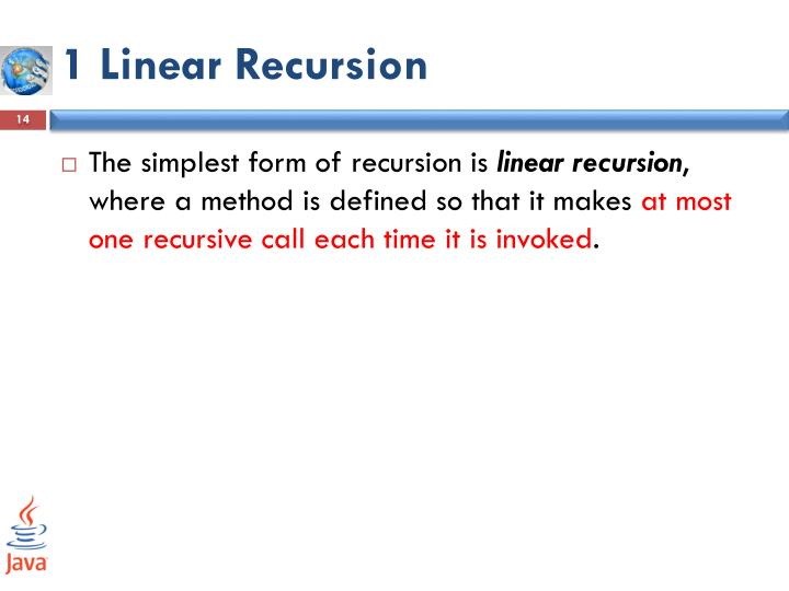 1 Linear