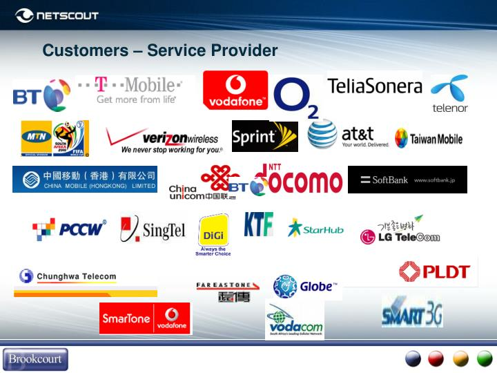 Customers – Service Provider
