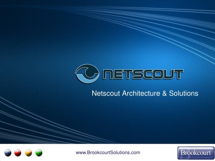 Netscout Architecture & Solutions