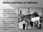 native americans in california