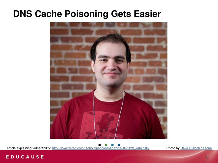 DNS Cache Poisoning Gets Easier