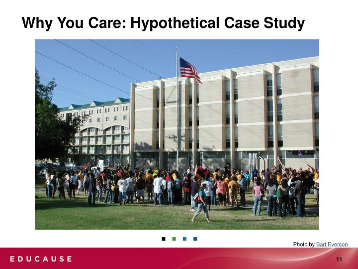 Why You Care: Hypothetical Case Study