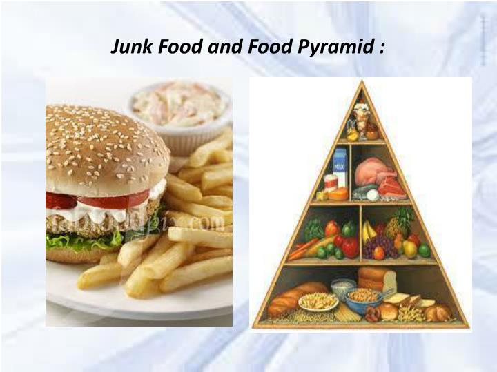 Junk Food and Food Pyramid :