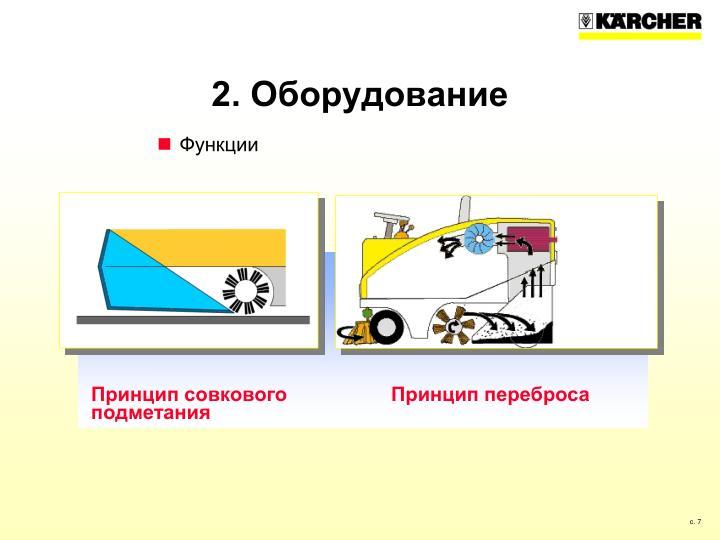 2. Оборудование