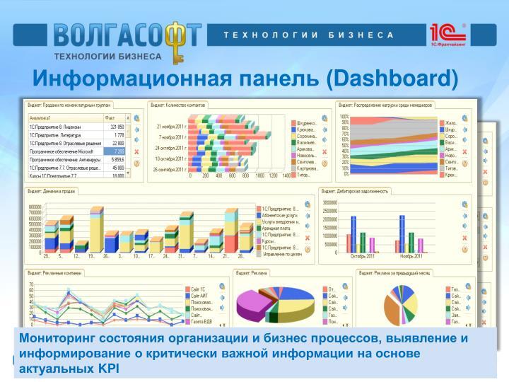 Информационная панель (