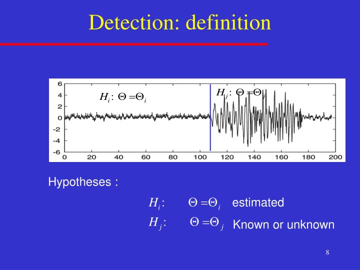 Detection: definition