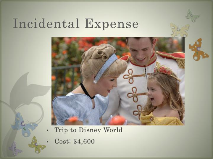 Incidental Expense