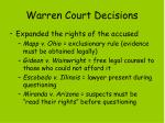 warren court decisions1