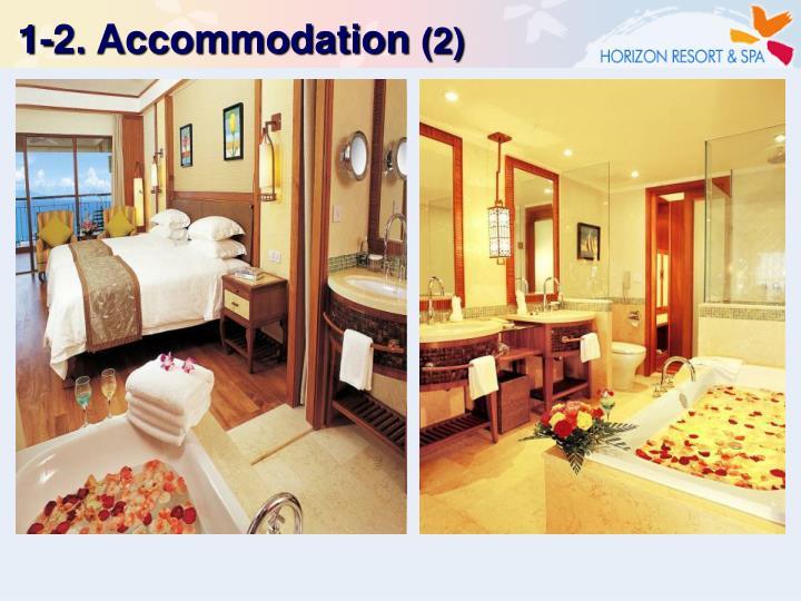 1-2. Accommodation